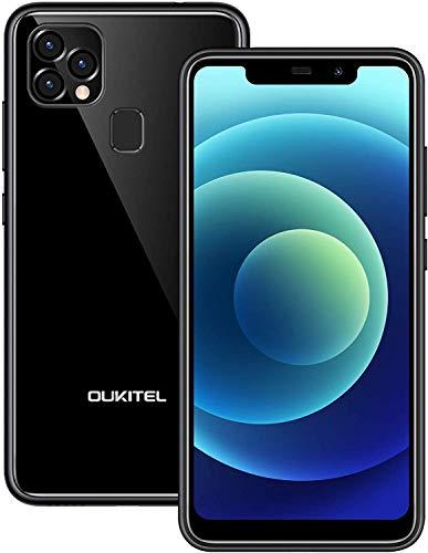Telefonos Moviles Libres Baratos OUKITEL C22, Android 10 Dual Sim 4GB+128GB (SD...