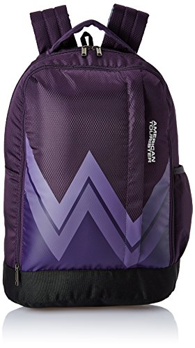 American Tourister 28 Ltrs Purple Casual Backpack (AMT Twist Backpack 02 - Purple)