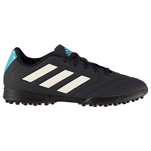 adidas Men's Goletto Vi Tf Footbal Shoes, (Grey/Cblack/Supcya) 9 UK