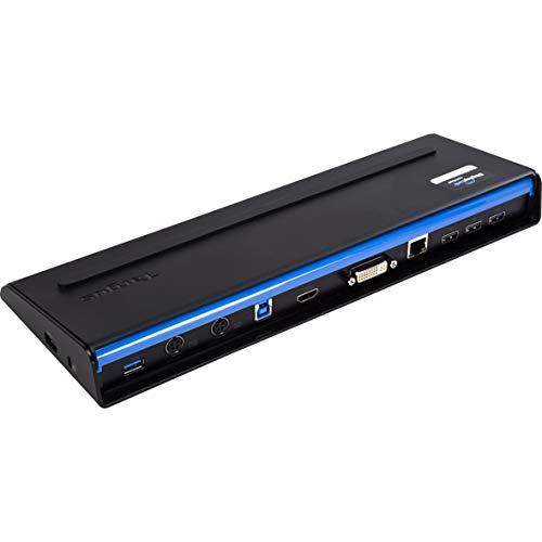 Targus USB 3.0 Docking Station +USB-C Multiplexer Adapter Black, BEU0654C (Multiplexer Adapter Black ACP71EUZA+ACA44EUZ)