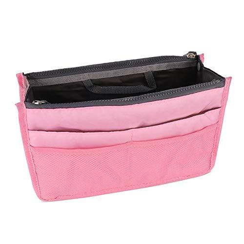 Savfy, organizer pieghevole da viaggio per prodotti per il corpo, rosa