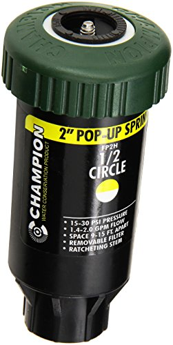 CHAMPION IRRIGATION PD FP2H Half Pop Up Sprinkler Head, 2-Inch