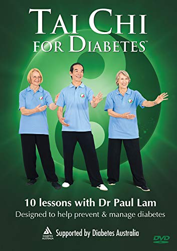 Tai Chi for Diabetes DVD - Designed to Help Prevent and Manage Diabetes (10 Lessons with Dr Paul Lam)