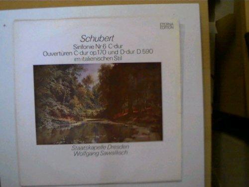 Schubert - Sinfonie Nr.6 C-dur, Ouvertüren C-dur op.170 gebraucht kaufen  Wird an jeden Ort in Deutschland