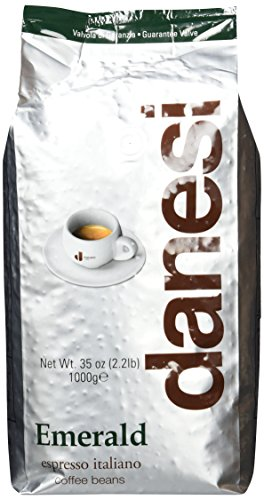 Danesi Caffè Emerald, Bohne, 1er Pack (1 x 1 kg)