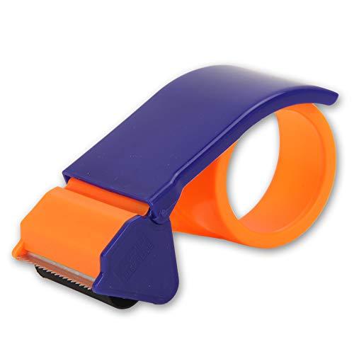 2.5 Inch Tape Gun Dispenser Packing Packaging Sealing Cutter,Lightweight Ergonomic Industrial Heavy Duty Tape Cutter for Carton, Packaging and Box Sealing,Handheld Warehouse Tools