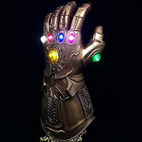 INTER FAST Spielzeug Spielzeug Modell Crafts Anime Boutique Avengers Glowing Handschuhe Krieg Handschuhe Anime Spielzeug Modell (Farbe   Glowing)