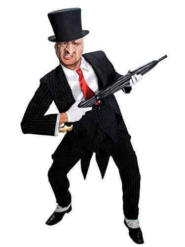 Rubie's Dc Rogues Gallery Pinguin-Kostüm für Herren - Schwarz - Einheitsgröße