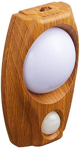 エルパ LEDセンサー付ライト 木目 PM-LW200(L)
