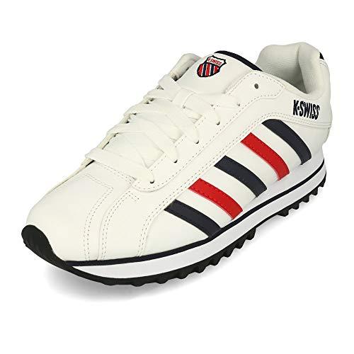 K-Swiss Men's Verstad 2000 S Sneaker, White/Corporate, 10 M US