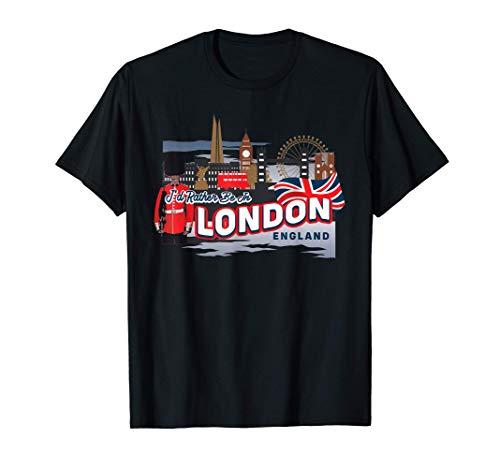 Londres Inglaterra oficialmente licenciado Camisetas Unisex