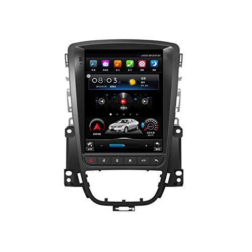 Android 10.0 Estéreo para automóvil Doble Din Compatible con Buick Excelle / Opel Astra J 2010-2014 Navegación GPS Unidad principal de 10.4 pulgadas Pantalla táctil Reproductor multimedia MP5 Recepto
