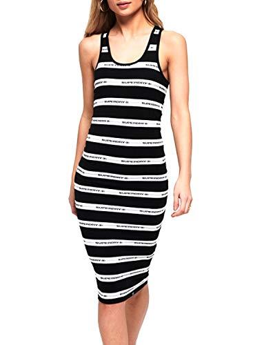 Superdry Mila Stripe Midi Dress Vestido para Mujer