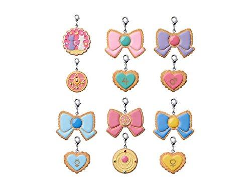 Sailor Moon Pretty Soldier Charm Patisserie Anhänger Cookie Charm Sortiment (6)