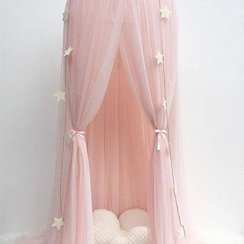 cortinas rosas para habitacion