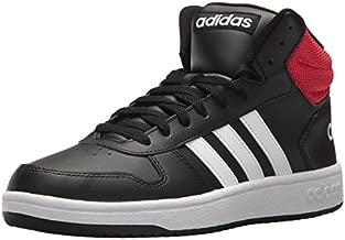 adidas Men's VS Hoops Mid 2.0, Core Black/White/Scarlet, 10 M US