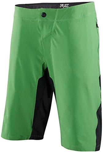 Fox Los Hombres de Cabeza de Zorro de Attack Q4–Pantalones Cortos, Hombre, Color Verde, tamaño 30
