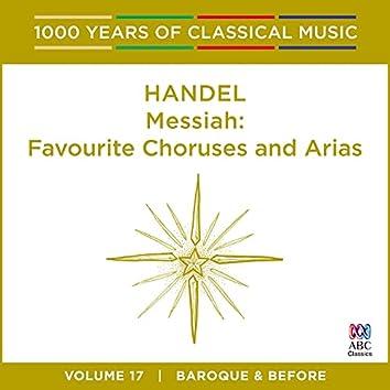 Handel: Messiah: Favourite Choruses and Arias