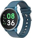 Relojes inteligentes hombres pantalla táctil completa Bluetooth inteligente monitor de ritmo cardíaco reloj deportivo fitness tracker para teléfonos Android IOS