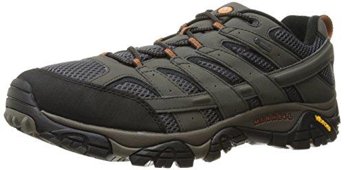 Merrell MOAB 2 GTX, Zapatillas de Senderismo Hombre, Gris (Beluga), 44 EU