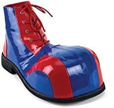Red and Blue Clown Shoes Costume Accessory
