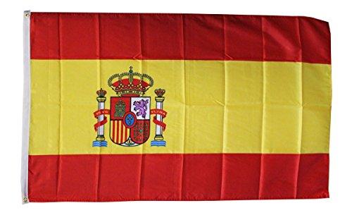 Klicnow - Drapeau Espagnol Polyester 91 cm x 1,5 Mètre