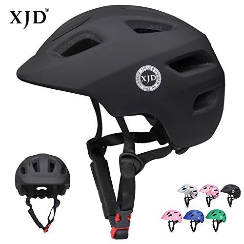 XJD Fahrradhelm Innocent X1 CE&EN Zertifizierung Schlagfestigkeit Belüftung für Fahrrad Roller Rollschuh Skateboard 2-8 Jahre alt Kleinkind (Schwarz, XS)