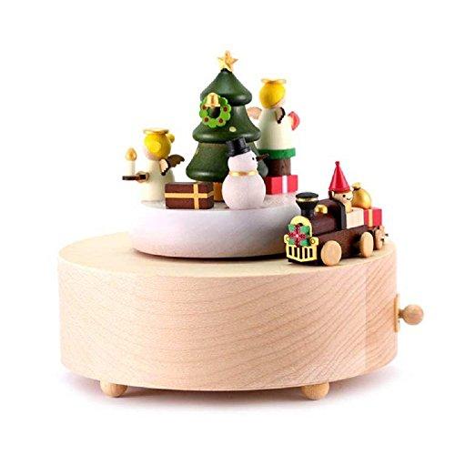 Wooderful Life Treno Di Natale, CARILLON ARTIGIANALE FATTO A MANO