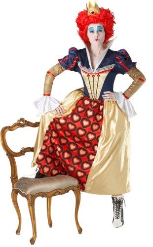 Die Rote Königin Kostüm - Alice im Wunderland - Größe: M