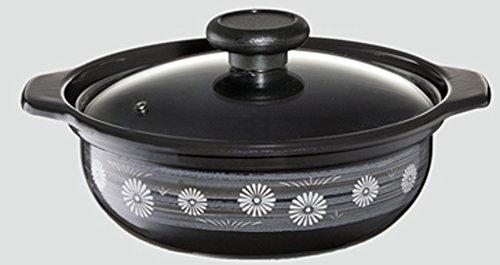 高木金属両手鍋ホーローIH200V対応18cm味わい鍋弥生(やよい)HA-Y18
