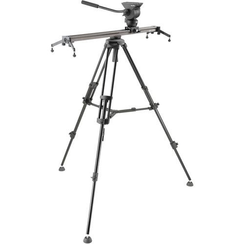 Libec ALLEX 2 Section Tripod Kit with Mid Level Spreader, Includes ALLEX H (Head), ALLEX S...