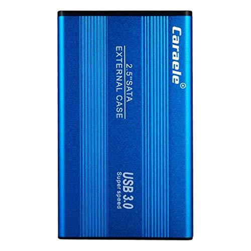 Shiwaki Disco Duro Externo Portátil 2.5'', USB3.0 SATA Almacenamiento para PC, Chromebook - 500GB