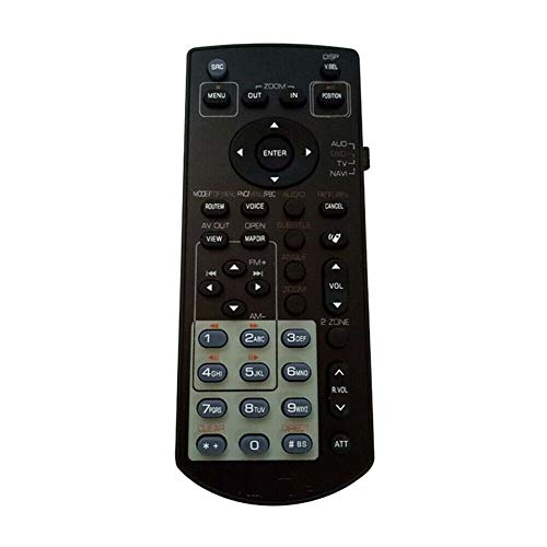 Replacement Remote Control for Kenwood Car Video DVD Receiver System DDX5032 DNX5120 DNX8120
