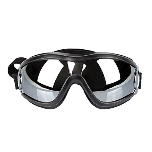 POPETPOP Occhiali per Cani Occhiali da Sole Occhiali da Protezione UV Occhiali da Vista Occhiale da Cucciolo