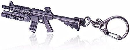 Llavero de lanzamiento de rifle con granada M16 de Shooter Games ...