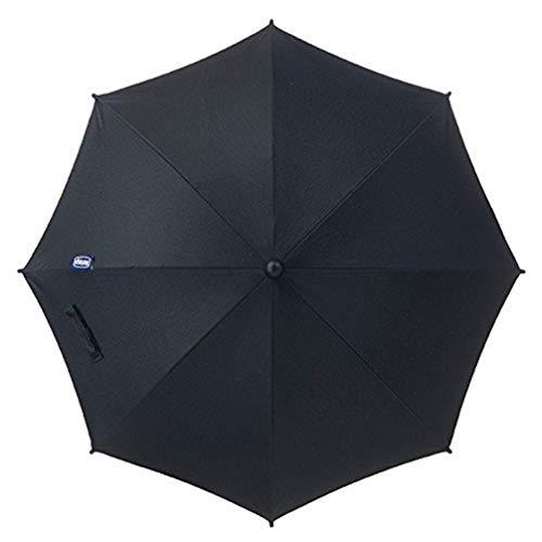 Chicco Sombrilla para sillas de paseo Chicco, color negro