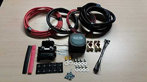 5M 100 Amp Relay and Fitting Kit Split Charge Auto Charge Leisure Battery