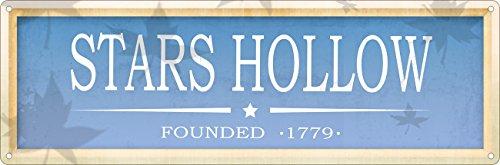 Grindstore Blechschild Stars Hollow 30,5 x 10,1 cm