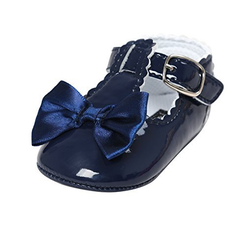 Infant Girl Navy Blue Shoes