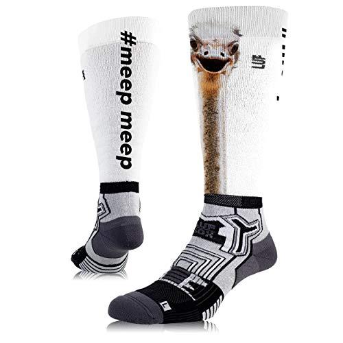 LUF SOX Performance Ride Transform Meepmeep - Socken für Damen und Herren, Unisex-Größe 35-38, 39-42 und 43-47, funktionell, für Sport und Freizeit