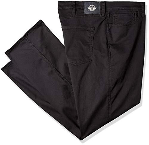 Dockers Men's Big and Tall Classic Fit Jean Cut All Seasons Tech Pants, Black, 50 29