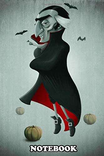 Notebook: Halloween Creature Series Vampire , Journal for Writing, College Ruled Size 6