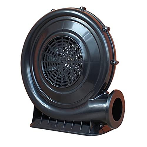 Soplador eléctrico de castillo inflable, ventilador de soplador profesional comercial, potente bomba de soplador compacta de 550W que ahorra energía, adecuado para trampolín de agua inflable