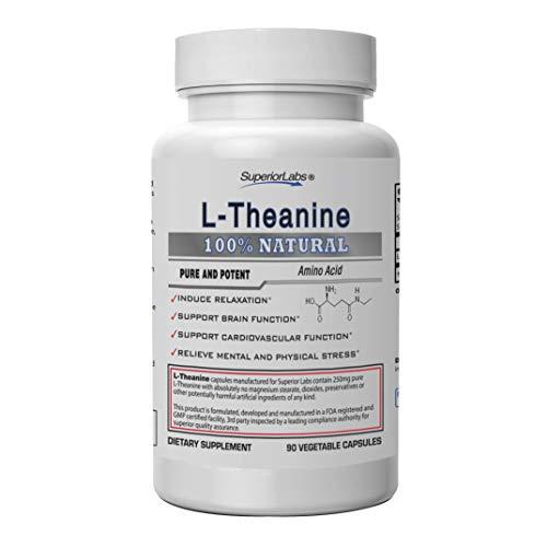 Superior Labs - Pure L-Theanine Non…