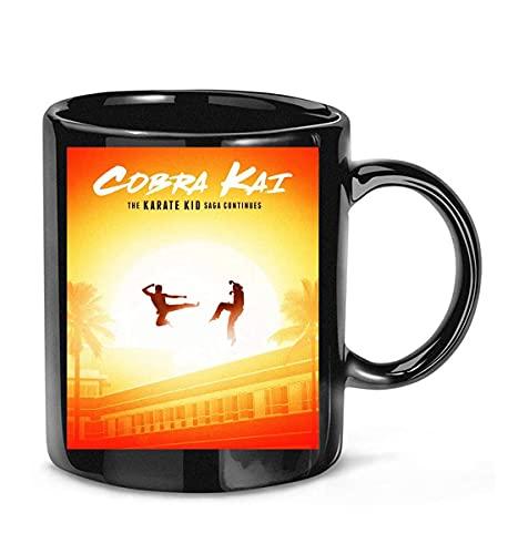 NA Cobra Kai Serie TV Commedia drammatica Daniel Larusso Tazza da caffè Johnny Lawrence per Donne e Uomini Tazze da tè