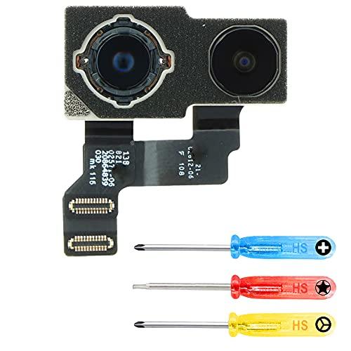 MMOBIEL Doble Repuesto Cámara Principal Trasera 12MP / 12MP Compatible con iPhone 12 Mini - 5.4 Inch Incluye 3 Destornilladores