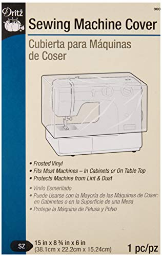 Dritz 900 Dust Cover for Sewing Machine, 15