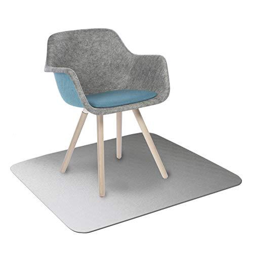 KAISER PLASTIC® Bodenschutzmatte | Made-In-Germany | für Hartboden | 115 x 135 cm | aus Polycarbonat