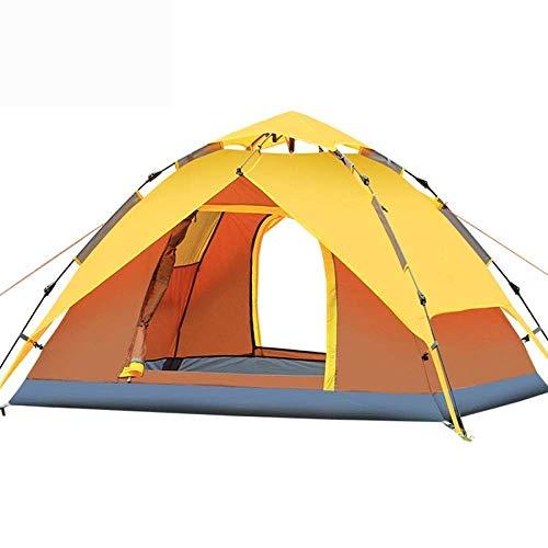 Productos para el hogar Tienda de campaña ultraligera de fácil instalación Tienda de campaña tipo domo para acampar  Carpa emergente automática para acampar para 3 4 personas Versión actualizada C