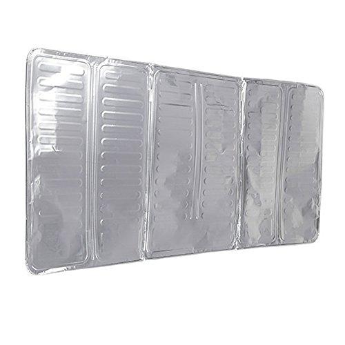 UEB Placca Antischizzo in Alluminio Paraschizzi Cucina Deflettore a Prova di Spruzzi d'olio per Fornello a Gas